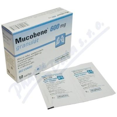 Mucobene 600mg gra.10x3gm-600mg-SA