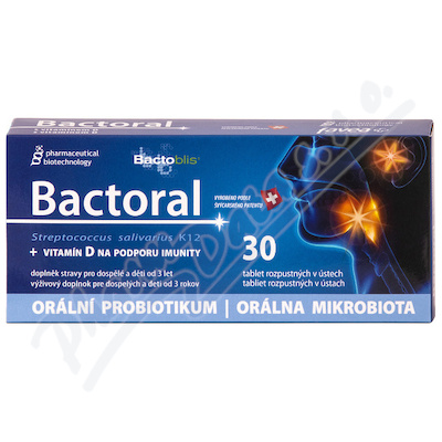 Favea Bactoral+Vitamín D tbl. 30