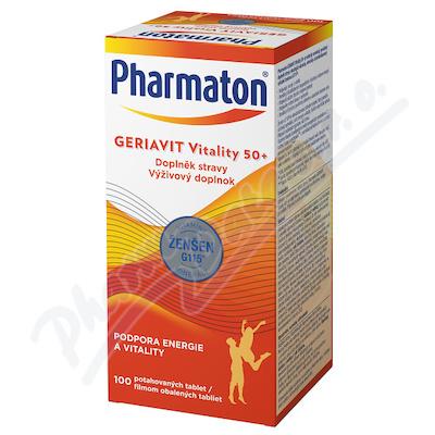 Pharmaton Geriavit Vitality 50+ tbl. 100