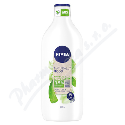NIVEA tělové ml. Naturally Good Aloe 350ml 83354