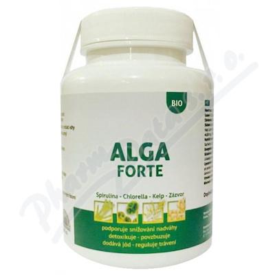 Alga Forte tbl. 360 bio kombinace řas a zázvoru
