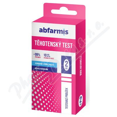 Abfarmis Těhotenský test 10mIU-ml 2ks