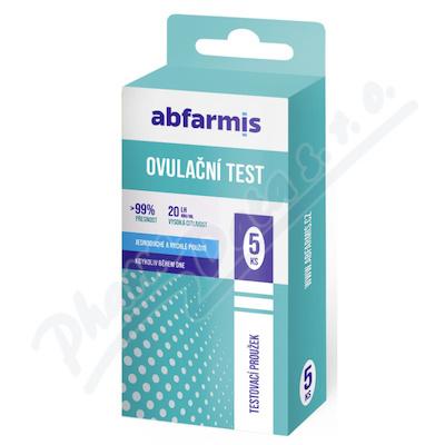 Abfarmis Ovulační test 20mIU-ml 5ks