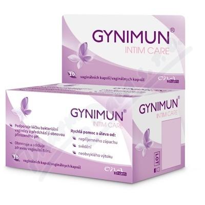 GYNIMUN intim care vaginální kapsle 10ks