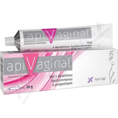 Apivaginal Gel s kys. hyaluronovou a propolisem 20g