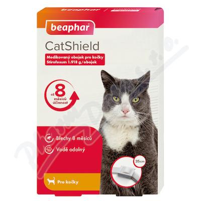 CatShield 1. 918g medikovaný obojek pro kočky 35cm