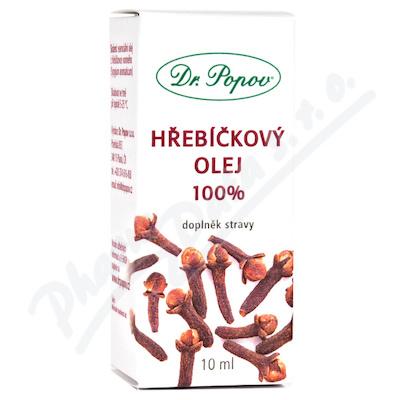 Dr. Popov Hřebíčkový olej 100% 10ml