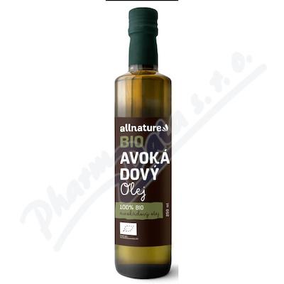 Allnature Avokádový olej BIO 250ml