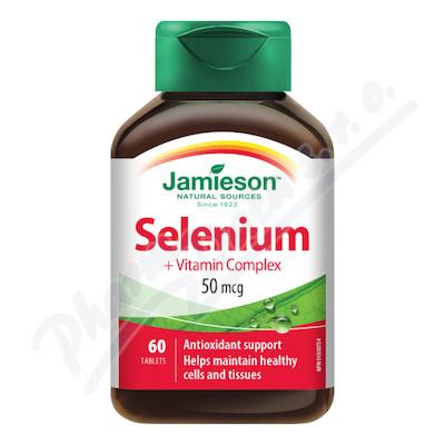 JAMIESON Selen+betakaroten 50mcg vit. C+E tbl. 60