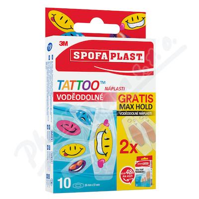 3M Spofaplast 115P Tattoo Voděod. nápl. 10ks+2 ZDAR.