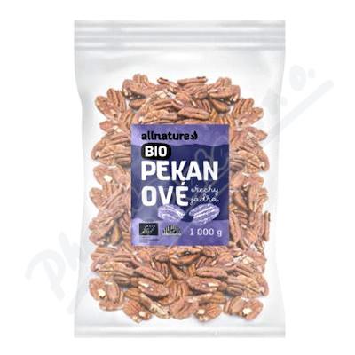 Allnature Pekanové ořechy BIO 1000g