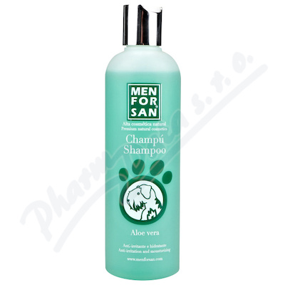 Menforsan Šampon zklidň. s Aloe vera pro psy 300ml