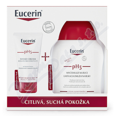 EUCERIN pH5 set citlivá pokožka Promo2021