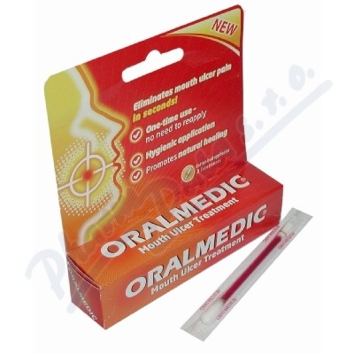 Oralmedic 2 aplikátory 2x0. 2ml