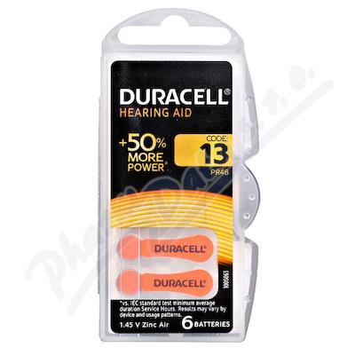 Baterie do naslouch.Duracell DA13 Easy Tab 6ks