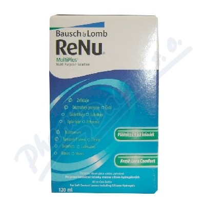Bausch&Lomb ReNu MultiPlus Multi-Purpose Sol. 120ml