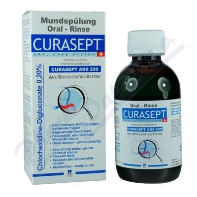 CURAPROX CURASEPT ADS 220 ústní voda 200ml 0. 20%