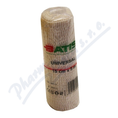Batist obinadlo elastické Universal 15cmx5m 1ks