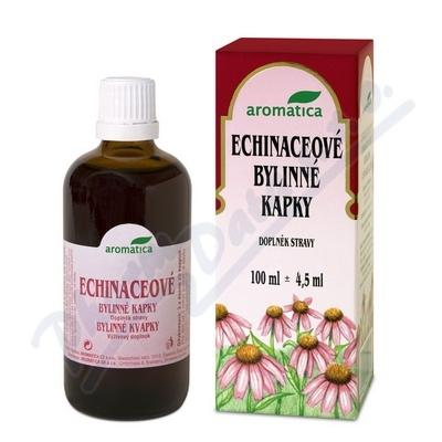 AROMATICA Echinaceové bylinné kapky od 3 let 100ml