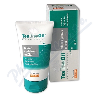 Tea Tree Oil tělové a pleť. mléko 150ml Dr. Müller