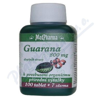 MedPharma Guarana 800mg tbl. 107