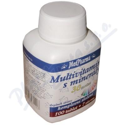 MedPharma Multivitamín s minerály 30složek tbl. 107