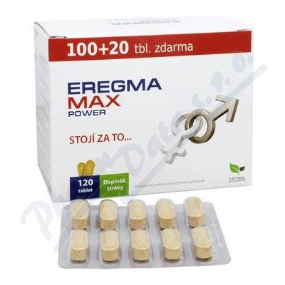 Natural Medicaments Eregma Max Power tbl. 120