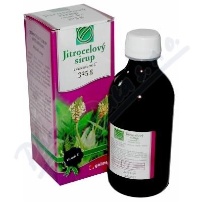 Sirup jitrocelový Galmed s vitamínem C 325g