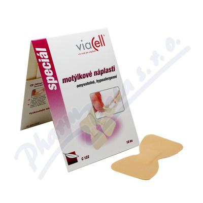 VIACELL C122 Diskrétní motýlkové náplasti 42x72mm