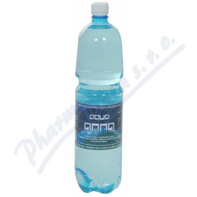 Kojenecká voda AQUA ANNA 1. 5 litru