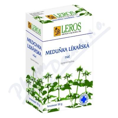 LEROS Meduňka lékařská nať 50g sypaná