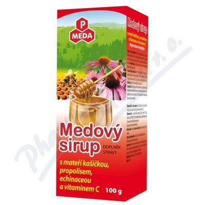 PM Medový sirup mat.kaše+propol+echin.+vit.C 100g