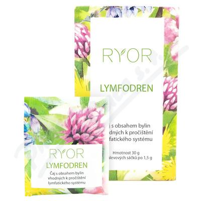 RYOR Lymfodren bylinný čaj 20x1. 5g