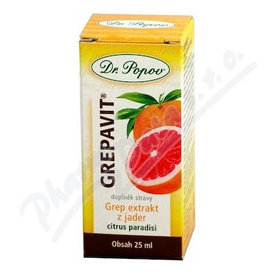 Dr. Popov Kapky Grepavit grep extrakt z jader 25ml