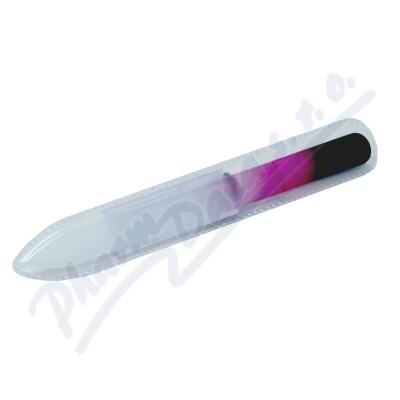 Pilník skleněný barevný oboustranný 14cm 1110B