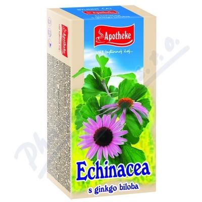 Apotheke Echinacea s ginkgo bil.čaj 20x1.5g