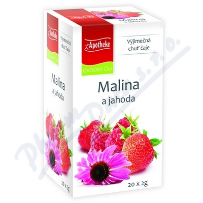 Apotheke Malina+jahoda s echinaceou čaj 20x2g n.s.