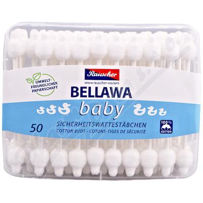 Vatové tyčinky Bellawa pro kojence 56ks
